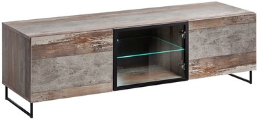 ТВ стол ASM RTV Plank, коричневый, 1500x450x440 мм