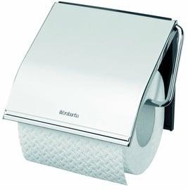 Brabantia ReNew tualetes papīra turētājs, Brilliant Steel