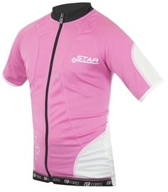 Force Kid Star Jersey Pink White 128-140