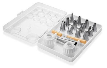 Tescoma Delicia Stainless Steel Decorating Nozzles 13pcs Set