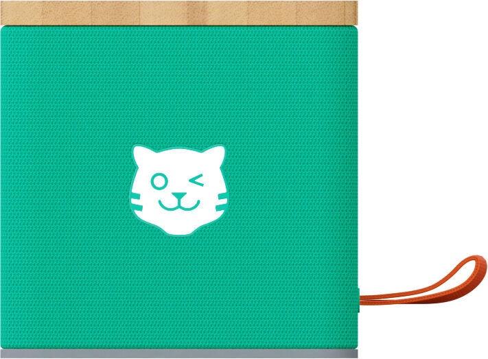 Bezvadu skaļrunis Tiger Media TigerBox TOUCH, zaļa