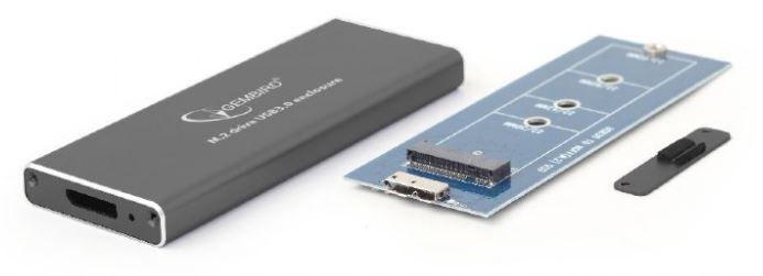 Gembird M.2 Drive USB3.0 Enclosure Back