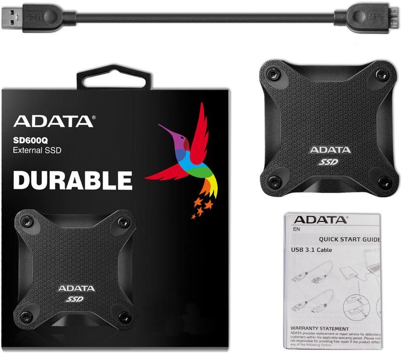 ADATA SD600Q 1.92TB USB 3.1 External SSD Black