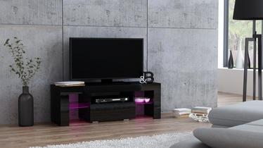 TV galds Pro Meble Milano 110 Black, 1100x350x450 mm