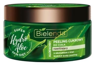 Ķermeņa skrubis Bielenda Super Skin Diet Sugar Scrub Aloe, 350 ml
