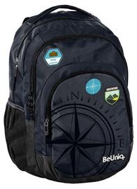 Paso BeUniq Travel School Backpack w/ Pencil Case Dark Blue