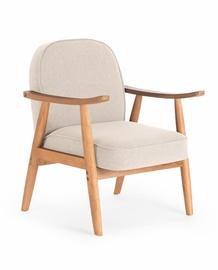 Atzveltnes krēsls Halmar Retro Beige, 70x64x76 cm