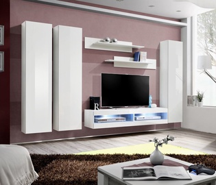 ASM Fly P6 Living Room Wall Unit Set White