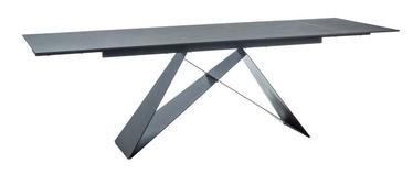 Обеденный стол Signal Meble Westin Black/Black Matt, 1600x900x760 мм
