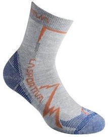 La Sportiva Socks Mountain Grey/Cobalt Blue L