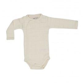 Apģērbs zīdaiņiem Lodger Romper Solid Body With Long Sleeves Ivory 74cm