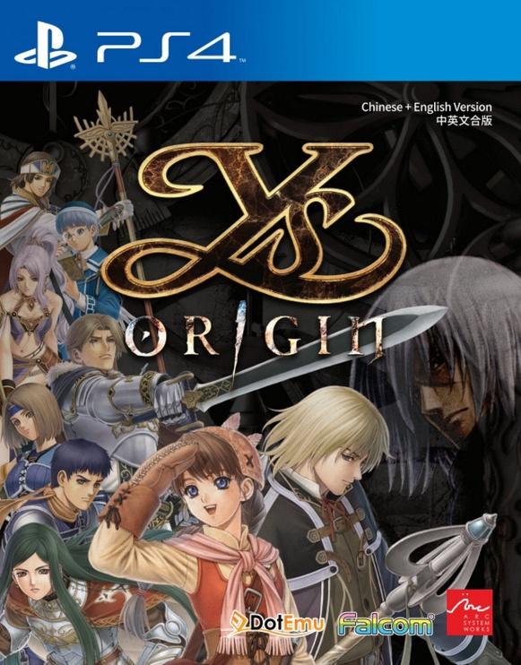 Ys Origin Asian Version PS4