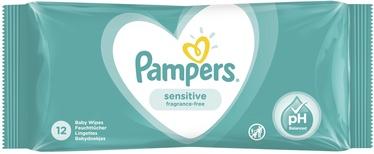 Mitrās salvetes Pampers Baby Sensitive, 12 gab.