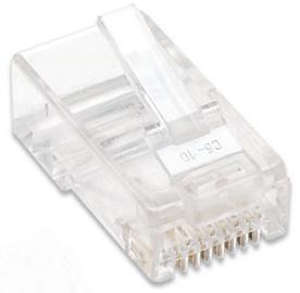 Intellinet Modular Plugs RJ45 Cat 5e UTP 100pcs
