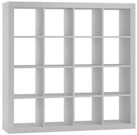Полка Top E Shop Kalax, белый, 147x38x147 см