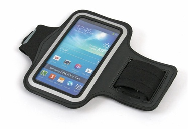 "Platinet Armband Pouch Case For Running 5"" Black"