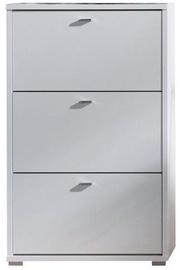 Шкаф для обуви Maridex Anter A03 White, 690x250x1120 мм