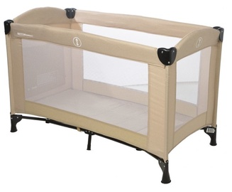Britton Compacr Travel Cot Beige B2465