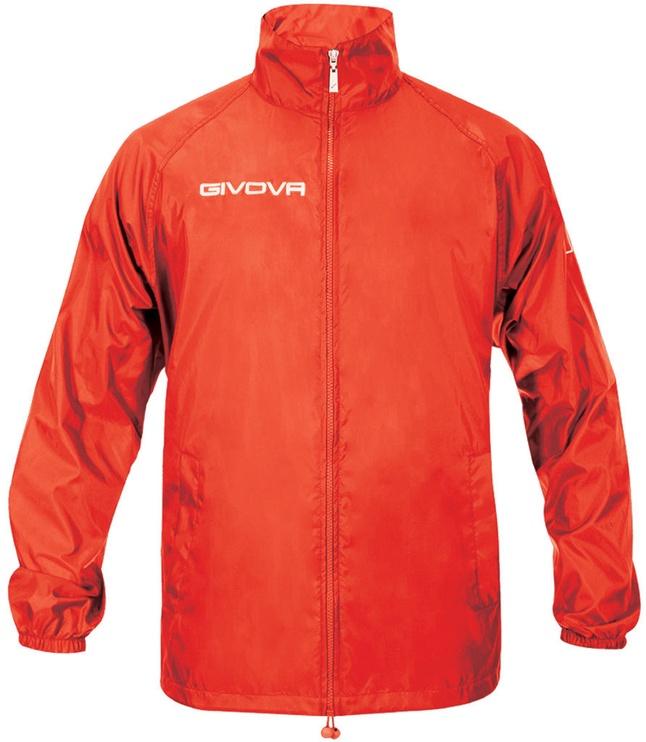 Givova Basico Rain Jacket Red XS