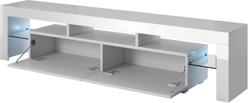 ТВ стол Cama Meble Toro 200, белый, 2000x400x410 мм