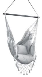 Šūpuļtīkls-krēsls AmeliaHome Tygo, pelēka