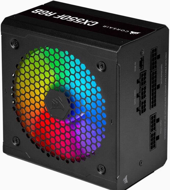 Barošanas bloks (PSU) Corsair CX Series RGB 550W CP-9020216-EU