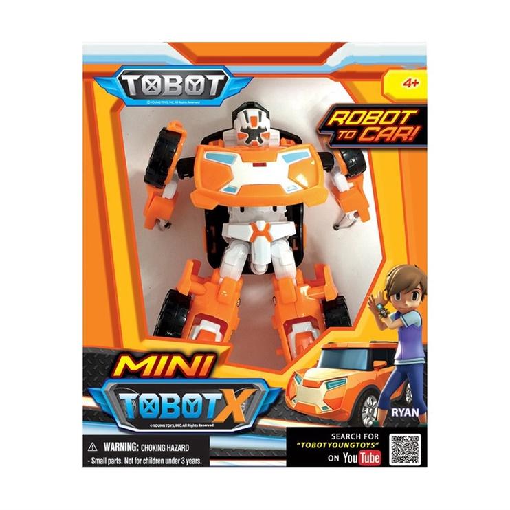 Rotaļlieta transformeris Mini Tobot X