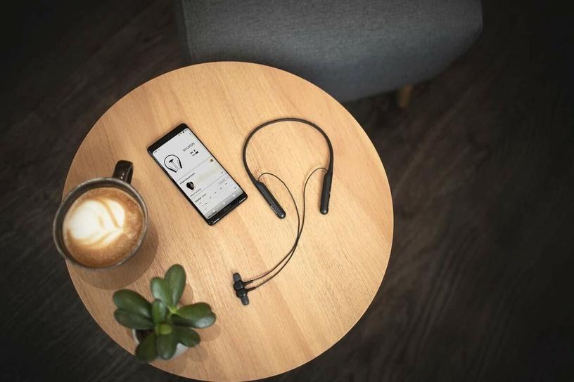 Austiņas Sony WI-C600N Black, bezvadu