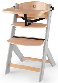 KinderKraft Enock Feeding Chair Wood/Grey