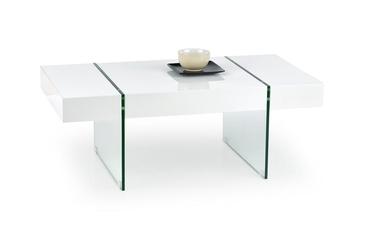 Kafijas galdiņš Halmar Amber White, 1100x600x400 mm