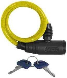 Замок Security Coil Cable Lock Yellow 12x1000mm