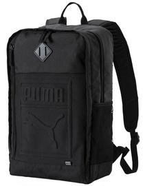 Puma S Backpack 075581 01 Black