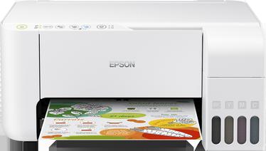 Daudzfunkciju printeris Epson Ecotank L3156, tintes, krāsains
