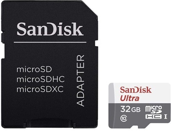 SanDisk Ultra Light microSDHC UHS-I Class 10 32GB + SD Adapter