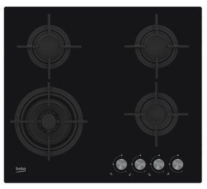 Газовая плита Beko HILW64222S Black
