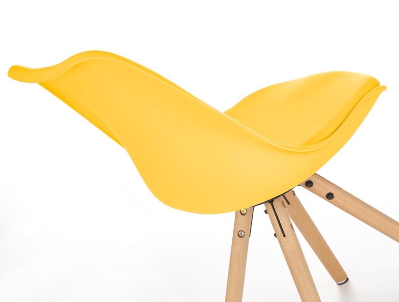 Ēdamistabas krēsls Halmar K201, dzeltena