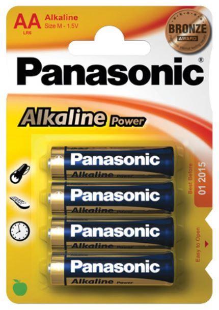 Panasonic Evolta LR6 Alkaline Battery AA x 4