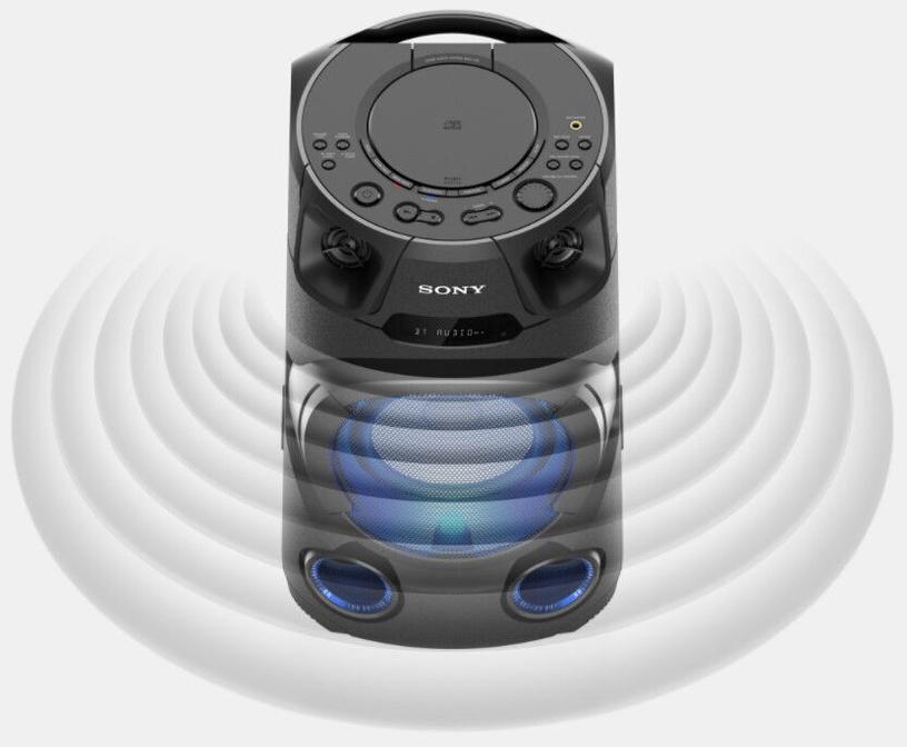 Bezvadu skaļrunis Sony V13, melna
