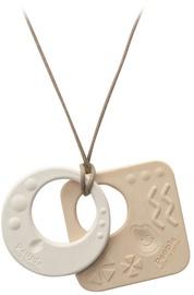 Zobu riņķis Mochi Double Pendant Necklace Jewelry MB023