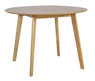 Pusdienu galds Home4you Jaxton Oak, 1060x1060x750 mm