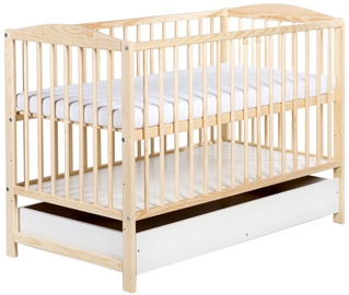 Klups Radek II Cot With Drawer Pine