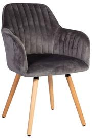 Ēdamistabas krēsls Home4you Ariel Grey, 1 gab.