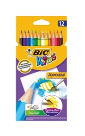 Krāsainie zīmuļi BIC KIDS 12 g 8575613