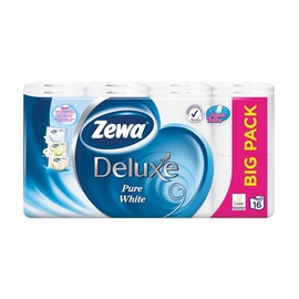 Zewa Deluxe Toilet Paper 18.8m 16pcs White