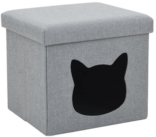 Домик для животных VLX Folding Cat Bed, серый, 370 мм x 330 мм