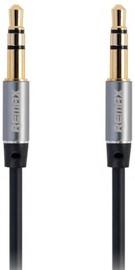 Remax L200 3.5mm Aux Jack Cable 2m Black