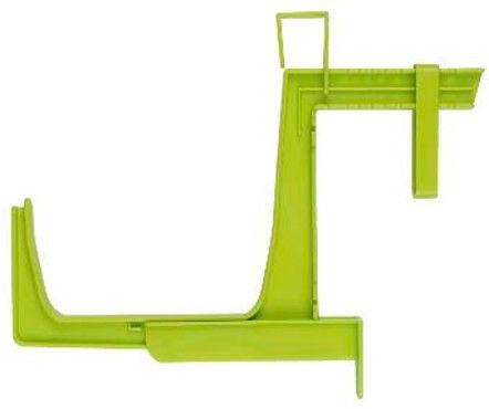 Plastkon Fantazie Window Box Holder Pea Green