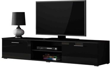 ТВ стол Cama Meble Soho 180, черный, 1800x430x370 мм