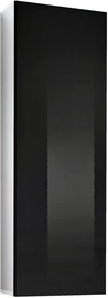 ASM Fly 20 Cupboard Hanging Cabinet White/Black Gloss