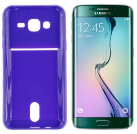 Roar Pocket Jelly Case For Samsung G925 Galaxy S6 Edge Violet